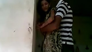 young Indian couple fucking in temple