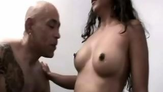 Couple having a great fun in their bedroom