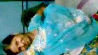 Bhabhi getting naughty with her hubby in bedroom