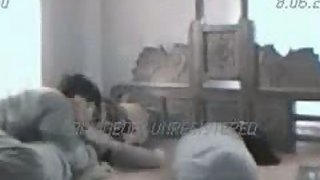 Karanchi couple having a great sex in their bedroom