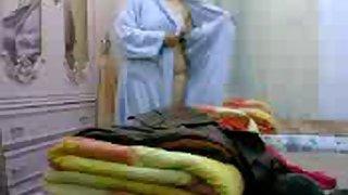 nargis bhabhi from kolkata caught changing after shower