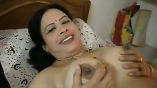 big busty raand laying naked fucked by her client
