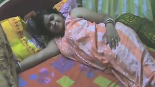 indian aunty in nighty showing hairy pussy ready for getting fucked