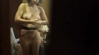 bhabhi caught in her bedroom changing her under garments