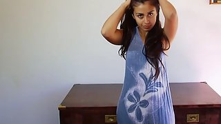 Indian Babe Fucking Her Hairy Pussy